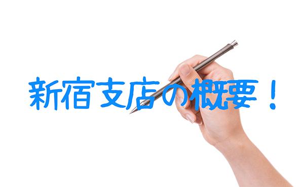 原一探偵事務所新宿支店の概要!